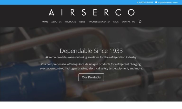 Airserco Manufacturing Company, Inc.