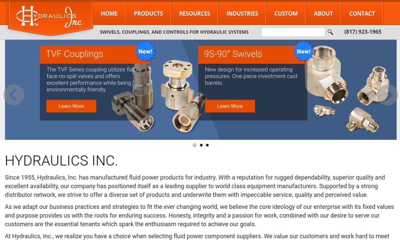 Hydraulics, Inc.