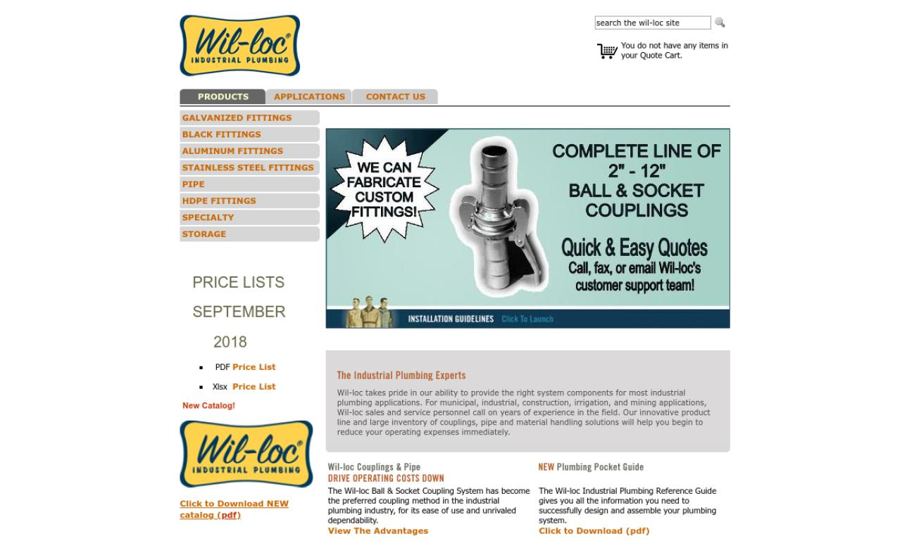 American Pump Company/Wil-Loc® brand | Quick Disconnect